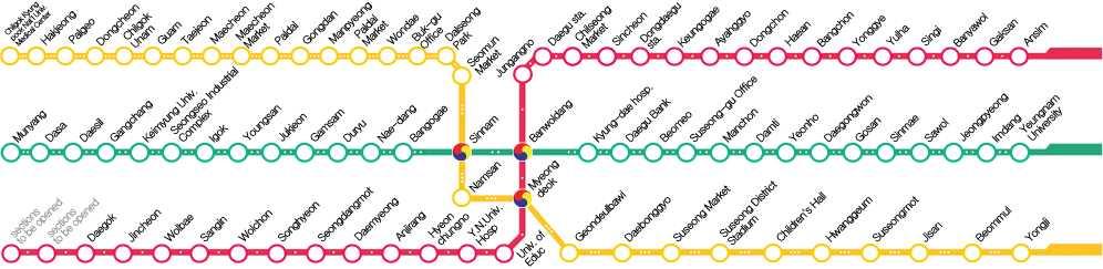 Peta Subway Daegu