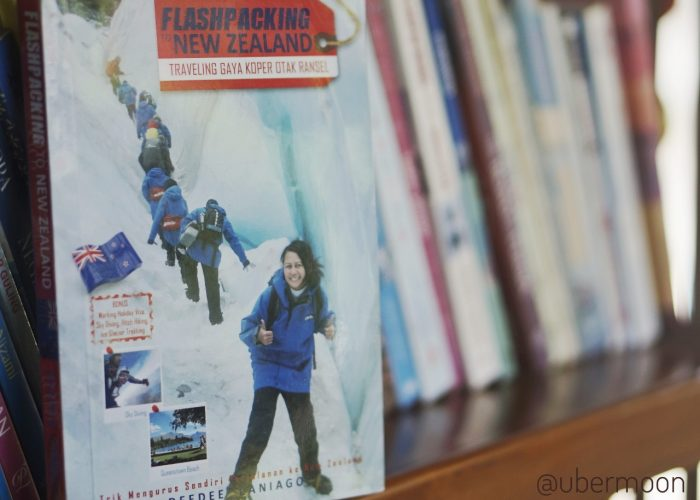 Buku Flashpacking New Zealand