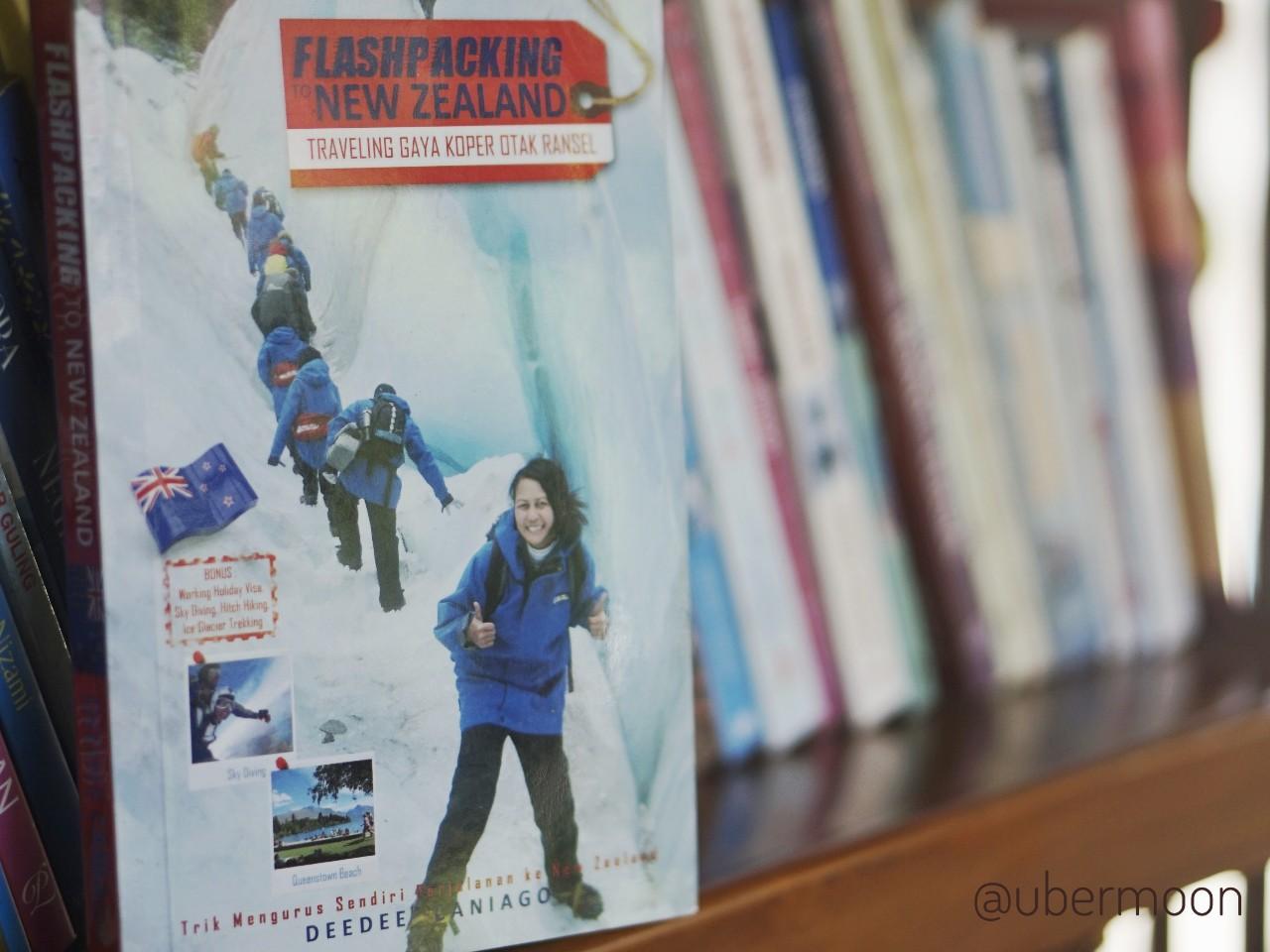 Buku Flashpacking New Zealand