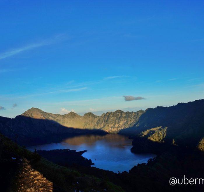 Mendaki Gunung Rinjani