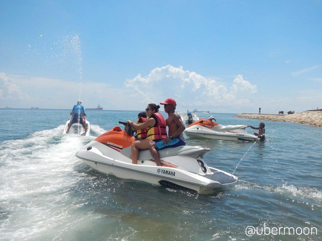 Liburan bersama anak — Naik Jetski di Tanjung Benoa