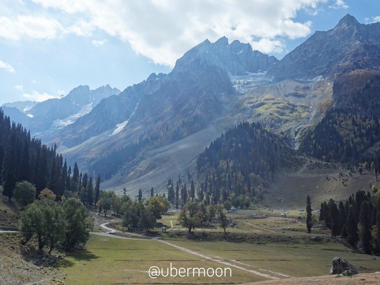 Gletser di Sonamarg Kashmir
