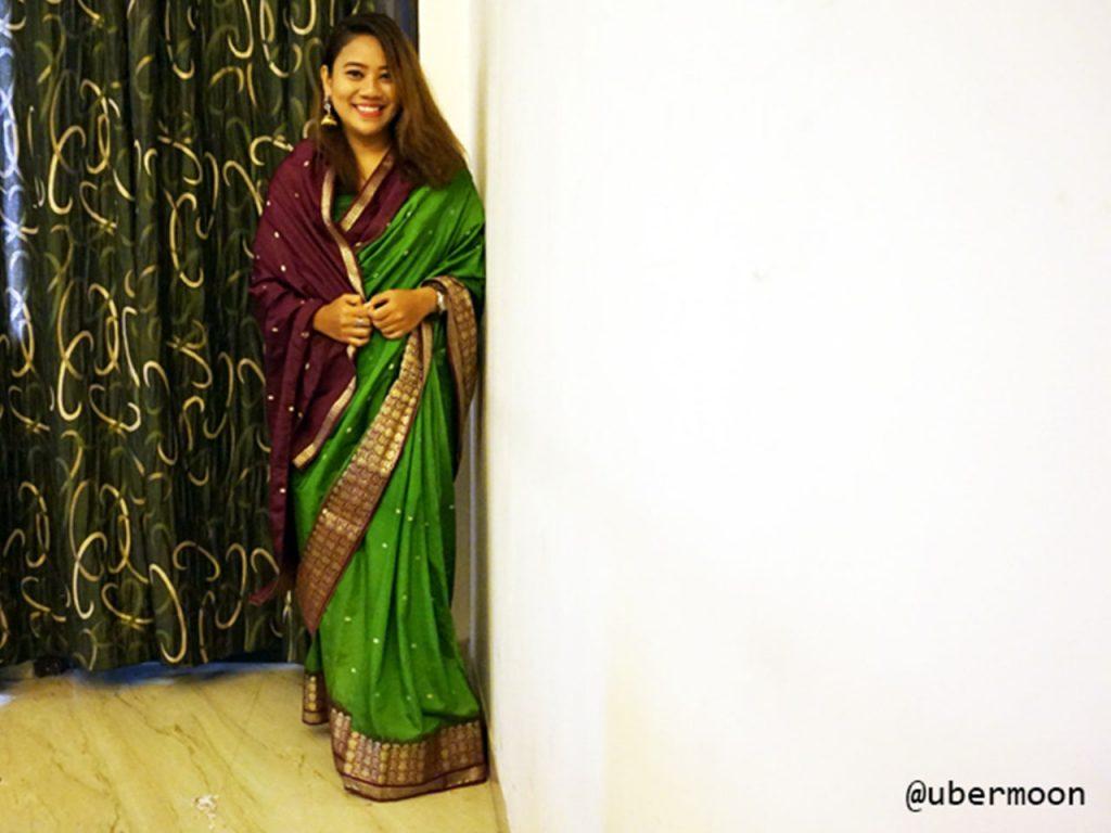 Pakaian Saree India