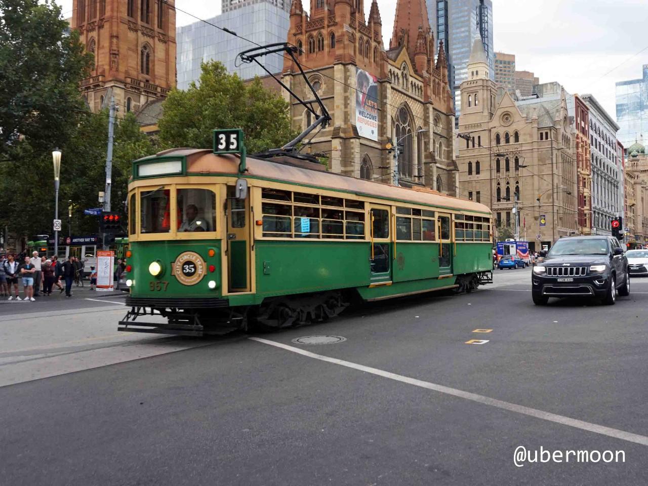 Trem di Melbourne