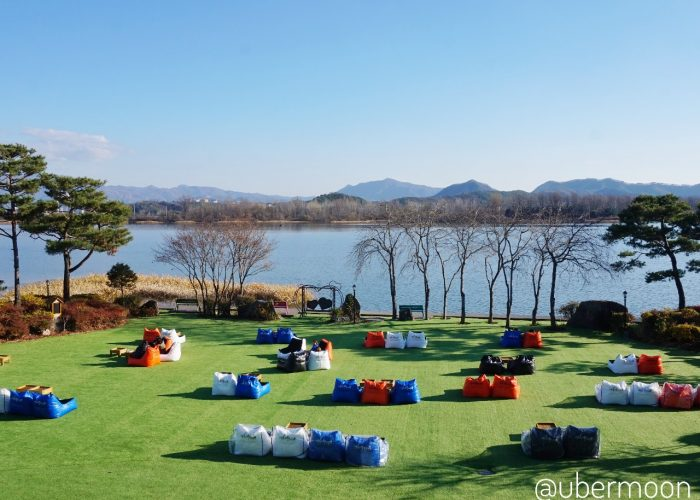 Kafe di Pinggir Danau Chuncheon