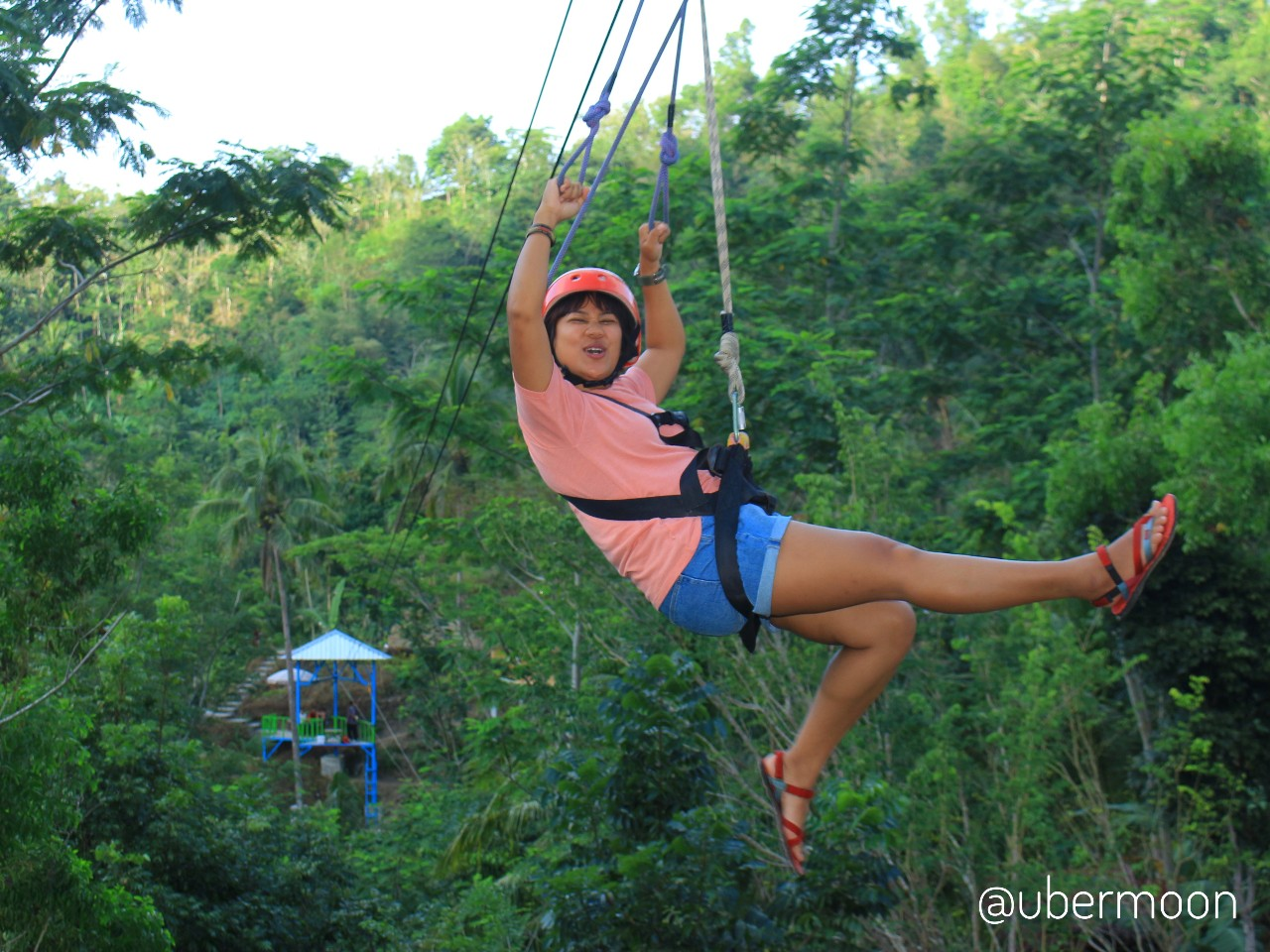 Flying Fox di Pule Payung