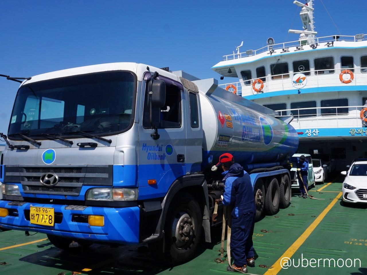 Ferry Seongsan Udo Island
