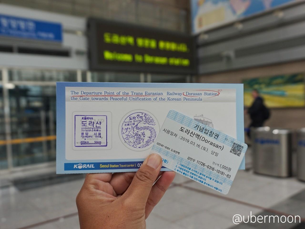 Tiket ke Pyeongyang