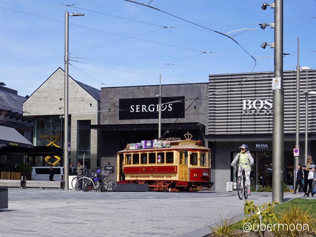 Tram Tua di Christchurch