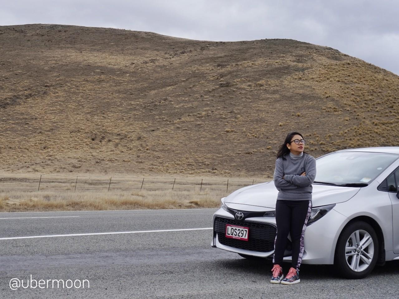 Sewa mobil dan menyetir di New Zealand