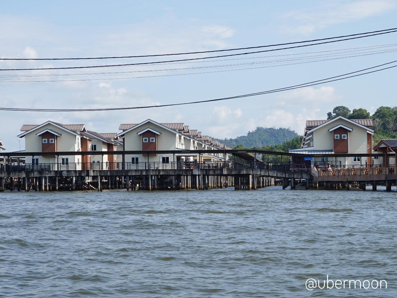 Komplek Perumahan di Kampong Ayer
